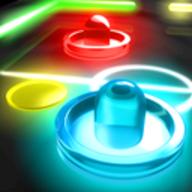 Glow Hockey logo