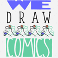We Draw Comics logo