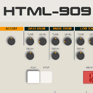 HTML-909 logo