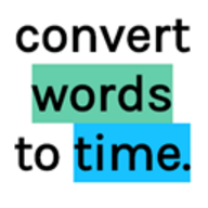 Words to Time logo
