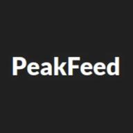 PeakFeed logo