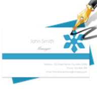 BP Business Card Designer logo