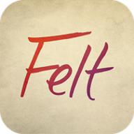 Felt for iPhone logo