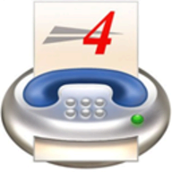 4-Sight FAX logo