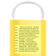 Encrypted Notepad logo