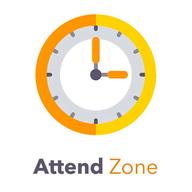 Attend Zone logo