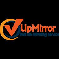 Upmirror logo