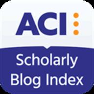 ACI Scholarly Blog Index logo