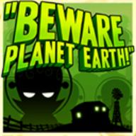 Beware Planet Earth logo