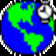 Wims World Clock logo
