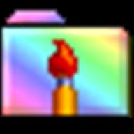 Rainbow Folders logo