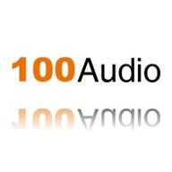 100Audio logo