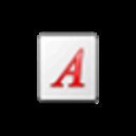 Installed font viewer logo