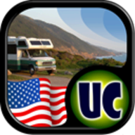 Ultimate US Public Campgrounds logo