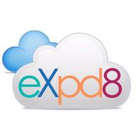 eXpd8 logo