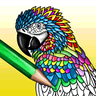 Mandala - adults coloring book logo