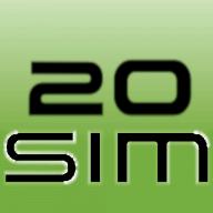 20-sim logo