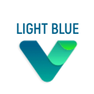 Flatlogic Light Blue Vue logo