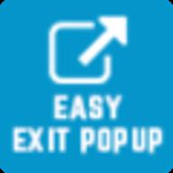 Easy exit popup logo