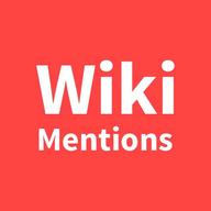 WikiMentions logo