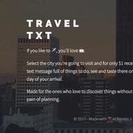 Travel TXT logo
