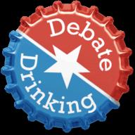 Debate Drinking logo