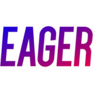 Eager logo