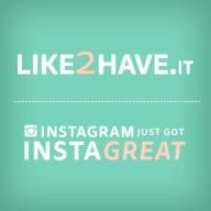 Like 2 Have It logo
