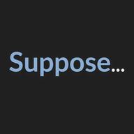 Suppose logo