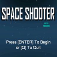 Space Shooter logo
