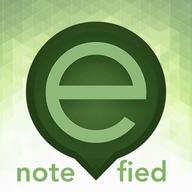 noteefied.com Note-e-fied Perfect logo
