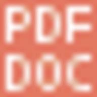 PDF2DOC.com logo