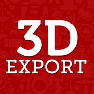 3DExport logo