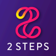 2 Steps logo