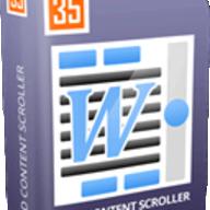 Fluid Content Scroller for WordPress logo