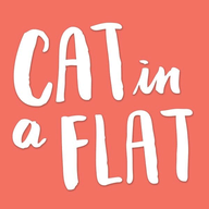Cat in a Flat logo