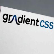 Gradient CSS logo