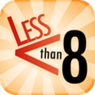 Less Than 8 logo