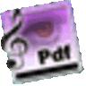 PDFtoMusic logo