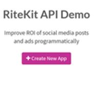 RiteKit Hashtag Suggestions API logo