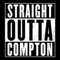 Straight Outta Somewhere logo