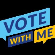 VoteWithMe logo