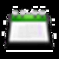 Kontact - KOrganizer logo