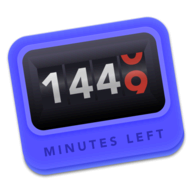 1440 Minutes Left Today logo
