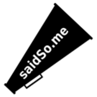 SaidSoMe logo