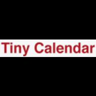 Tiny calendar logo