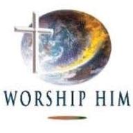 Worship Him logo