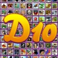 D10 logo