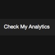 Check My Analytics logo